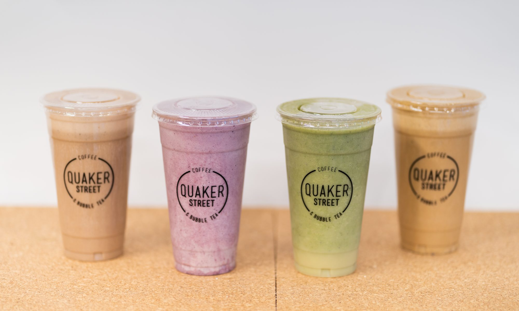 Protein Smoothies in takeaway cup